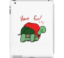 Positivity Turtle! iPad Case/Skin