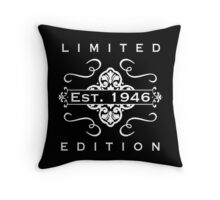 1946 Limited Edition Throw Pillow