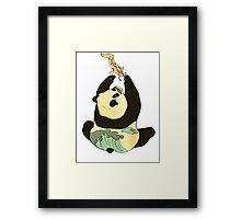 Life's A Fish Framed Print
