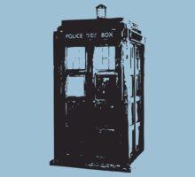 TARDIS Baby Tee