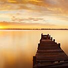 Lake Charm, Kerang, Victoria, Australia by Michael Boniwell