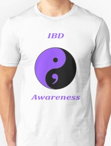 IBD Awareness Semicolon Unisex T-Shirt