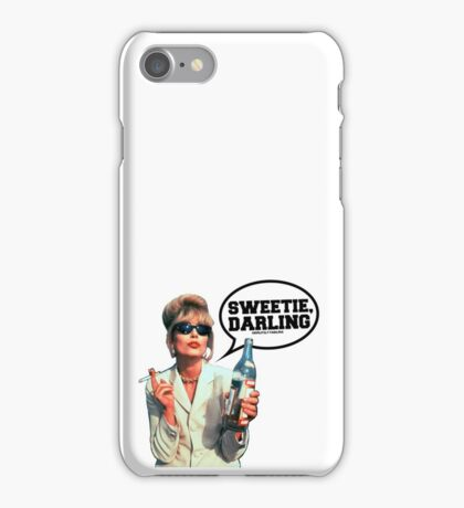 "Absolutely Fabulous - ""Sweetie, Darling"" Patsy. iPhone Case/Skin"