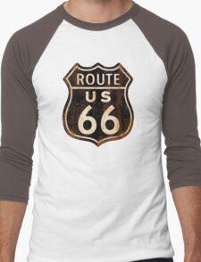 Route 66 Men's Baseball ¾ T-Shirt