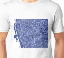 Berkeley Map - French Blue Unisex T-Shirt