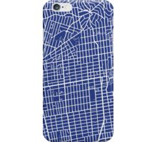 Berkeley Map - French Blue iPhone Case/Skin