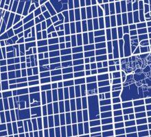 Berkeley Map - French Blue Sticker