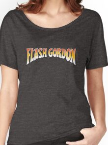 Flash Gordon Original Movie Poster Logo Women's Relaxed Fit T-Shirt