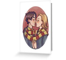 Harry and Ginny Greeting Card