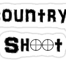 Remember This is Bandit Country Shoot Everything That Moves. Sticker