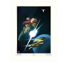 30 Years - Metroid Art Print