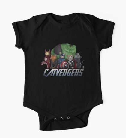 The Catvengers One Piece - Short Sleeve