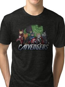 The Catvengers Tri-blend T-Shirt