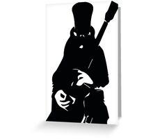 Slash Greeting Card