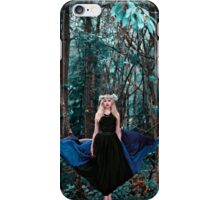 She walks with the spirit of the woods iPhone Case/Skin