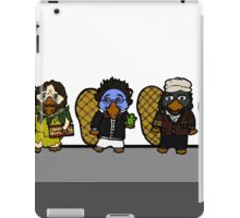 Faces of Mr. Robbin the Platypus iPad Case/Skin