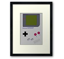 Original Gameboy Framed Print