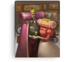 Katamari Damacy Royal Portrait Canvas Print