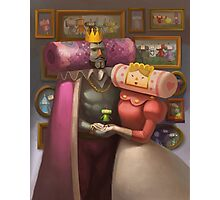 Katamari Damacy Royal Portrait Photographic Print