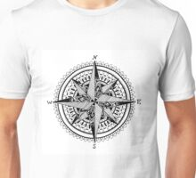 Black Compass Unisex T-Shirt