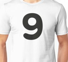 Comic Number 9 Nine Unisex T-Shirt