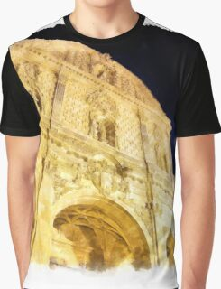 Sassari: facade of the cathedral Graphic T-Shirt