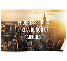 Grey's Anatomy Quote-progress Poster