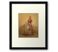 Zelda Royal Portrait Framed Print