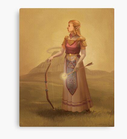 Zelda Royal Portrait Canvas Print