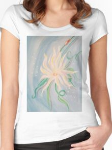 A Daisy Women's Fitted Scoop T-Shirt