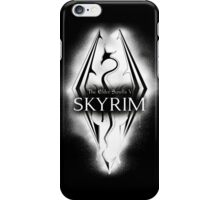 Skyrim Elder Scrolls Dragon iPhone Case/Skin