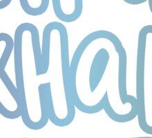 inhale exhale breathe Sticker