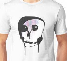 Skull Blind Contour Unisex T-Shirt