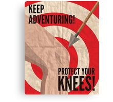 Skyrim watch out for arrows Canvas Print