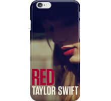 Taylor Swift Red Album Cover iPhone Case/Skin