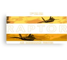 Air Dominance Fighter Canvas Print