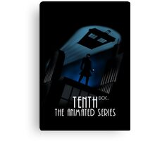 Tenth - the animated series V2 Canvas Print