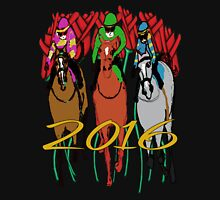Kentucky Derby 2016 Racehorses Womens Fitted T-Shirt