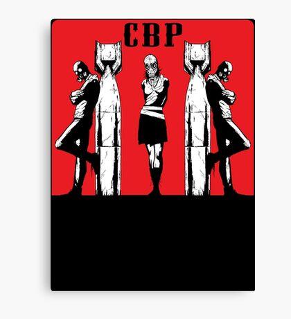 CBP BOMBS Canvas Print