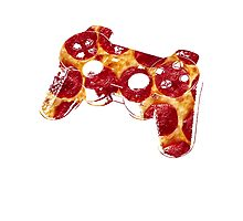 Pizza Controller -Playstation Pepperoni - Cool Design Photographic Print
