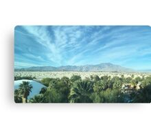 Palm Desert California, Mountains Canvas Print