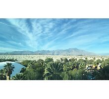 Palm Desert California, Mountains Photographic Print