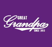 GREAT GRANDPA T-Shirt Personalized with year Father's Day funny nerd geek geeky by srihutami121