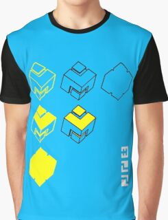 Cubes of the Line Graphic T-Shirt