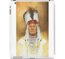 The Old War Chief iPad Case/Skin