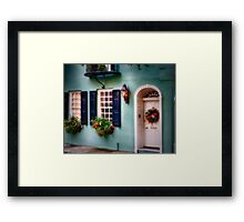 Charleston Colors IV Framed Print