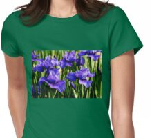 Blue Velvet Womens Fitted T-Shirt
