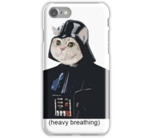 Heavy Breathing iPhone Case/Skin