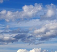 Cloud layers Sticker