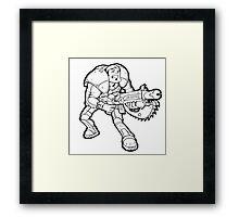 Gears of War Framed Print